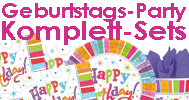 Party-Sets Geburtstag