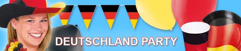 Deutschland party motto party produkte shop party for Deutschland deko