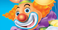 Kinder-Party Clown