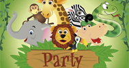 Kinder-Party Safari-Party