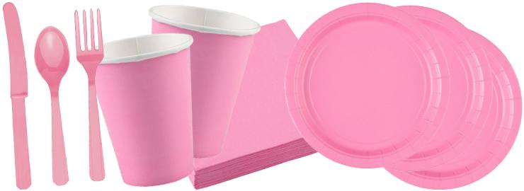 Party Dekoration Pink Rosa Festbedarf Nach Farben Festbedarf