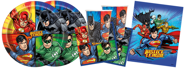 Jungen-Party Justice League & Superhelden