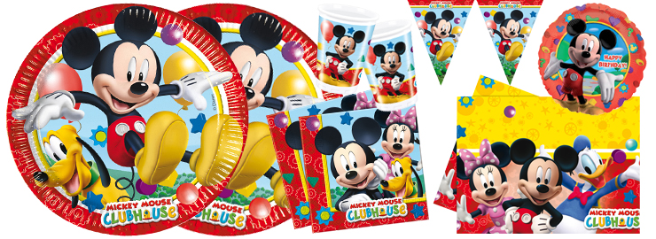 Jungen-Party Mickey Mouse