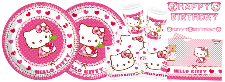 Madchen Party Hello Kitty