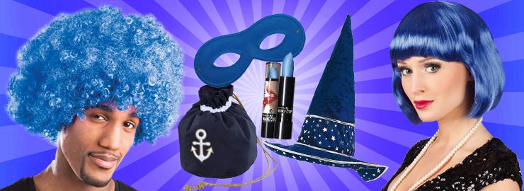 e4b5e4ae98 Kostüm-Accessoires Blau Kostüm-Accessoires Farben Kostüm-Accessoires ...