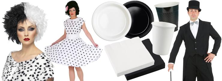 Black White Party Motto Party Produkte Shop Party Discount De