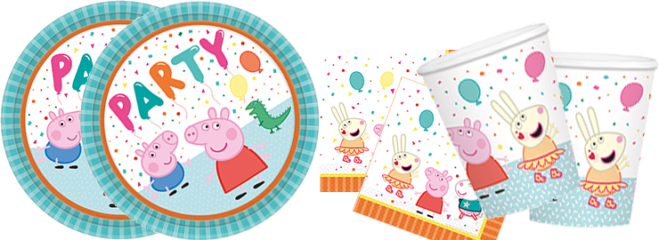 Kinder-Party Peppa Wutz