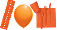 Party-Dekoration Orange