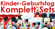 Kinder-Party-Komplett-Sets