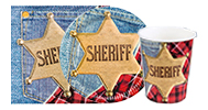 Kinder-Party Sheriff & Western