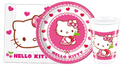 Mädchen-Party Hello Kitty