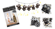 hollywood party motto party produkte shop party. Black Bedroom Furniture Sets. Home Design Ideas