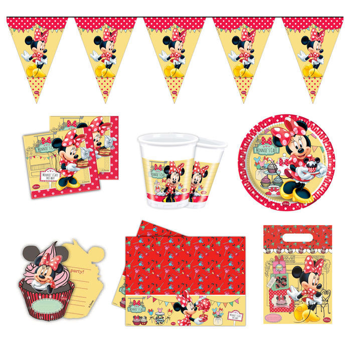 Partypaket Minnie Mouse