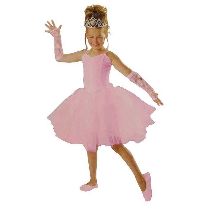 kinder kost m ballerina tutu rosa gr 140. Black Bedroom Furniture Sets. Home Design Ideas