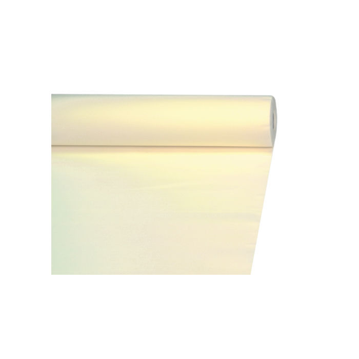 tischdecke creme aus papier 20 x 1 2 m tischtuchpapiere party geschirr tischtuch geburtstags. Black Bedroom Furniture Sets. Home Design Ideas