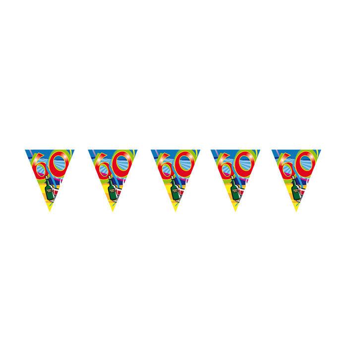 Wimpelkette 10m Zahl 2 Jahre Geburtstag Deko Party Girlande