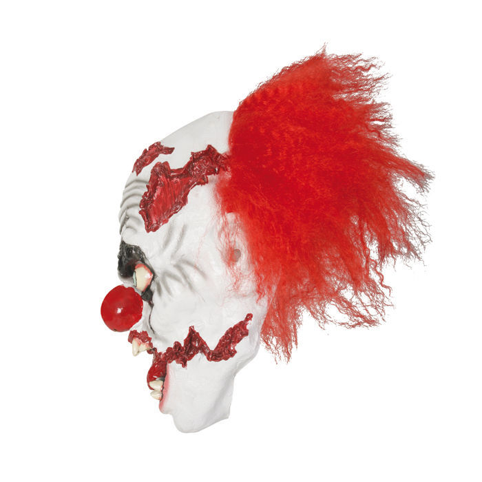 Maske Horror-Clown, aus Latex Bild 2