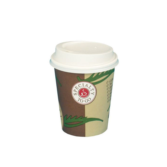 Becher Coffee to go mit Deckel, 0,2l 10 Stk.