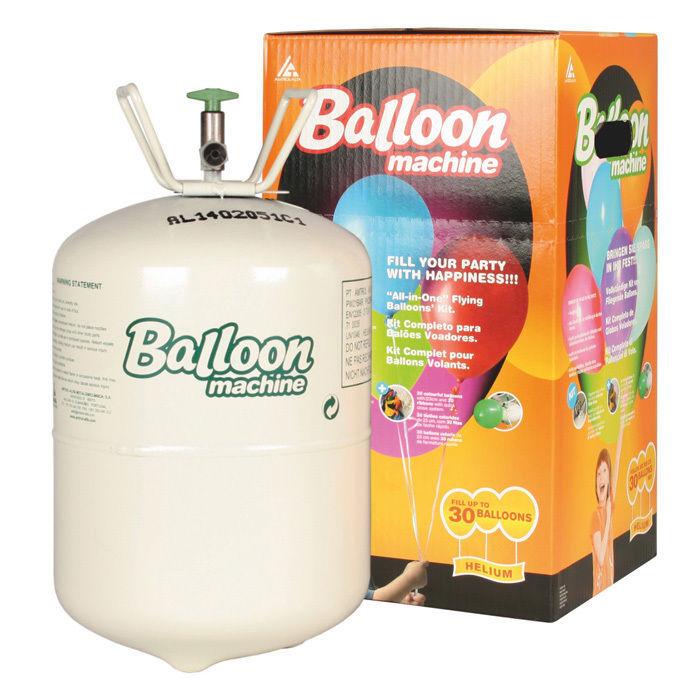 flasche ballongas helium f r ca 30 ballons ballongas. Black Bedroom Furniture Sets. Home Design Ideas
