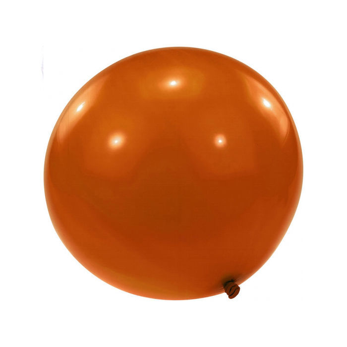 Riesen-Ballon 250cm Umfang, orange