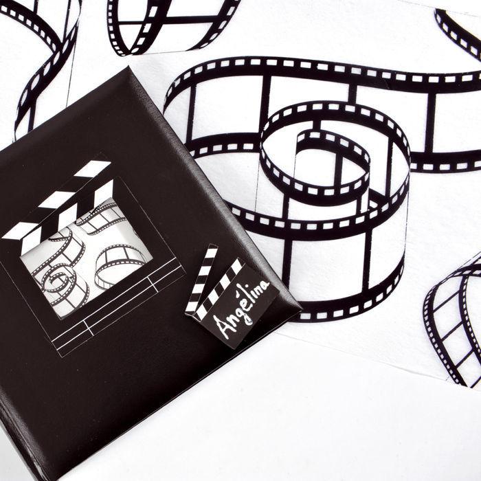 namensschild cinema mini regieklappe 2 st ck party geschirr hollywood hollywood party motto. Black Bedroom Furniture Sets. Home Design Ideas
