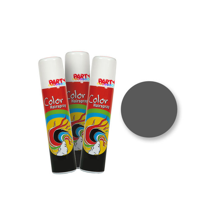 Haar-Color-Spray, 75 ml Dose, grau