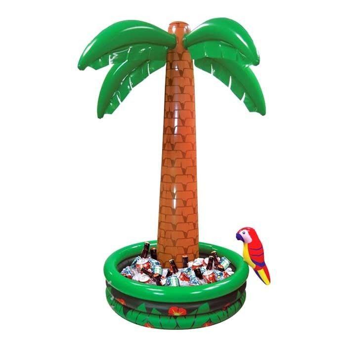 wohnzimmer palme pflege:Aufblasbare Palme mit Getränkebehälter, 182 cm – Sommerfest-Party