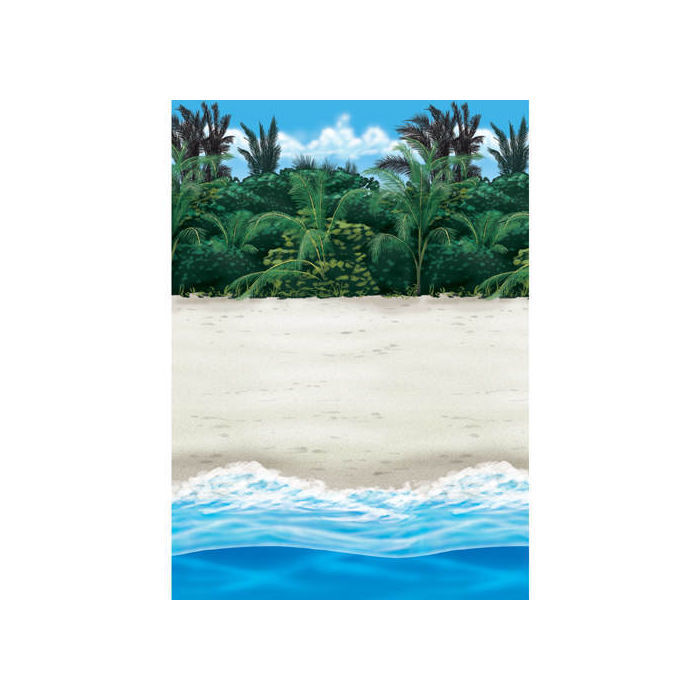 Wand Deko Beach, 1,2 M X 12,2 M