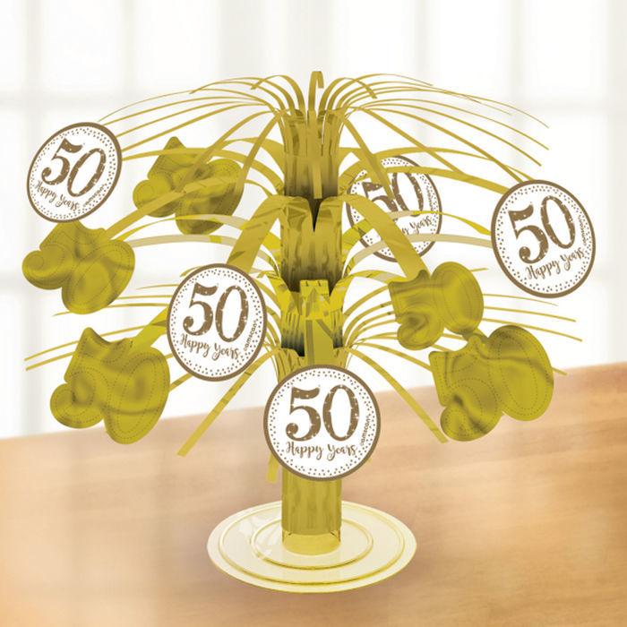 Tisch Deko Kaskade Goldene Hochzeit 19 Cm Silberhochzeit