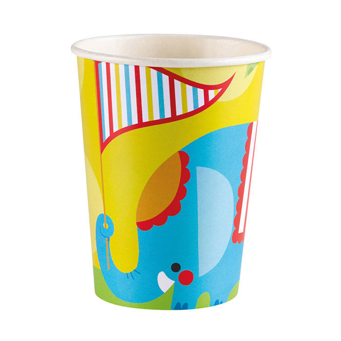 SALE Becher Zirkus Fisher Price, 266 ml, 8 Stück