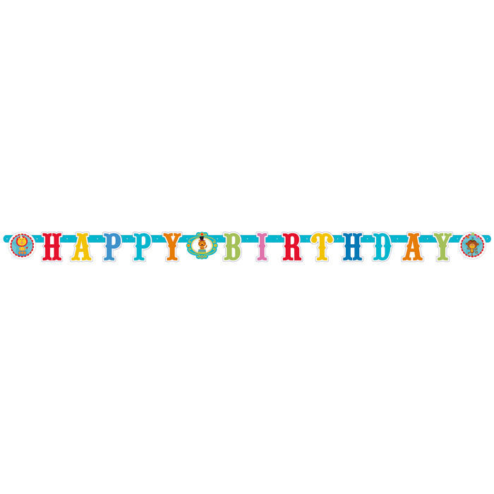 SALE Girlande Happy B.Zirkus Fisher Price 180cm