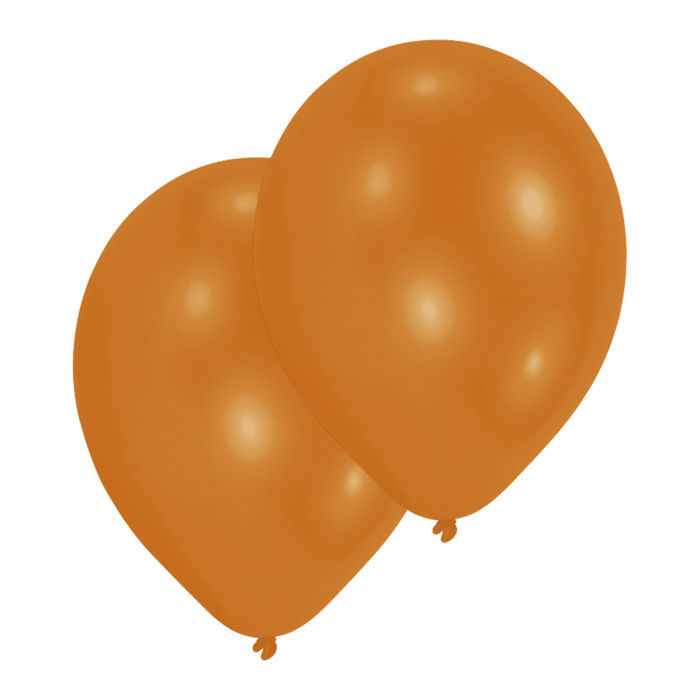 Luftballon Premium Orange, 10er Pack