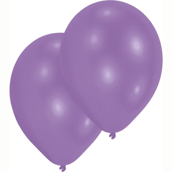 SALE Luftballon Metallic-Violett, 10er Pack