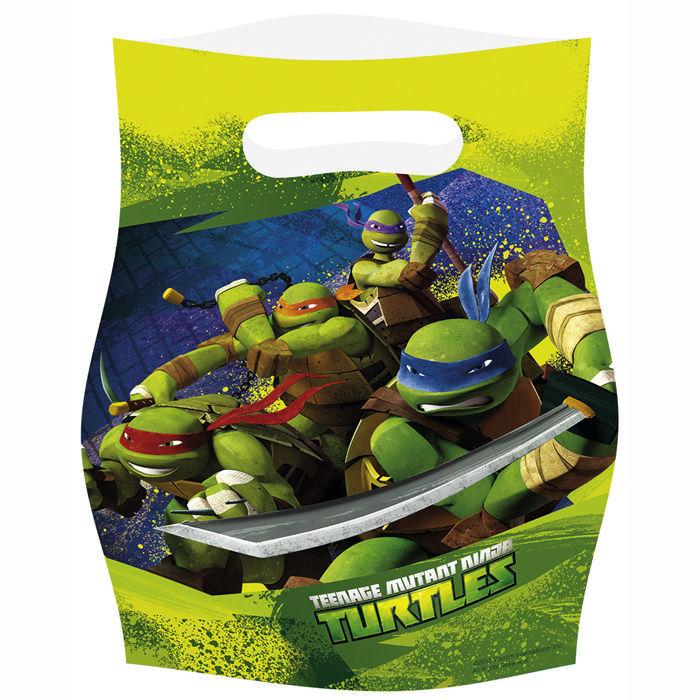 Geschenktüte Für Mitgebsel Ninja Turtles 6 Stk