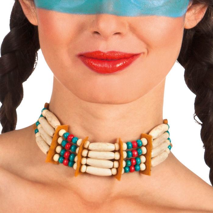 halsband indianerin zum binden accessoires indianer kost m accessoires themen kost m. Black Bedroom Furniture Sets. Home Design Ideas