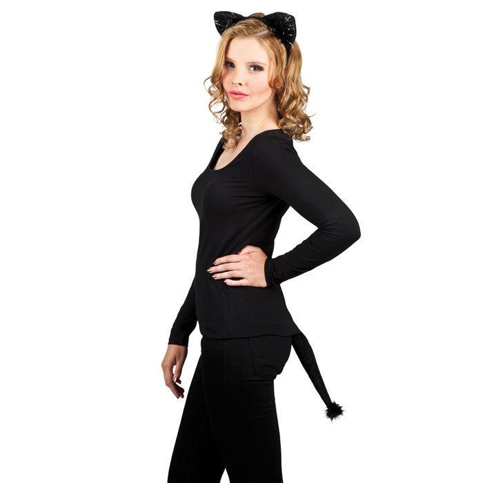 Kostum Set Schwarze Katze Mit Samt Tierkostume Pluschkostume