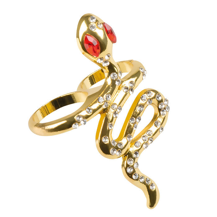 Ring Snake Of The Nile, gold