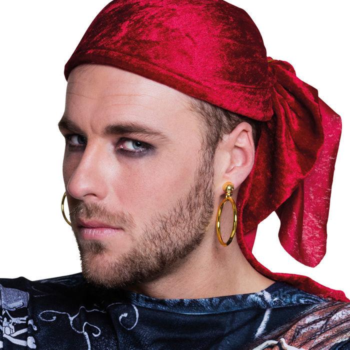 Piraten Ohrring Schmuck Karneval Pirat Kostüm Seeräuber