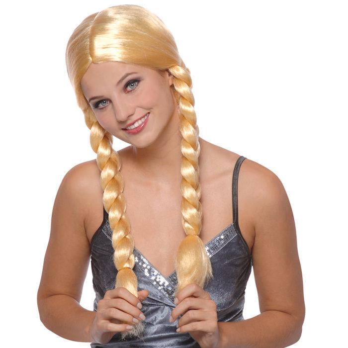 schönes Design 100% Zufriedenheit wie man bestellt Zopfperücke Natascha, Mittelscheitel, blondes Haar - Alle ...