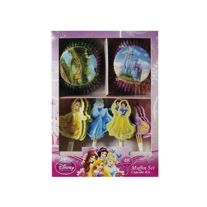 SALE Muffinset Disney Princess, 48 teilig