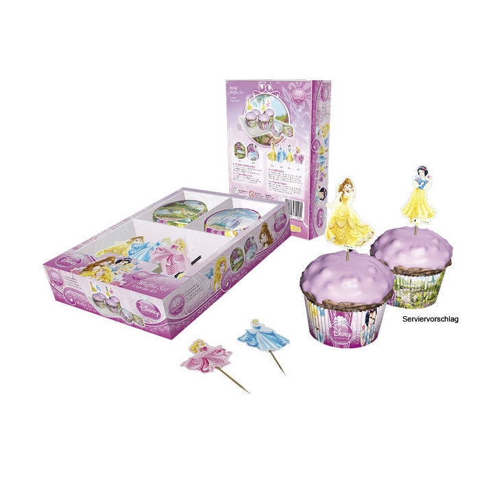 SALE Muffinset Disney Princess, 48 teilig Bild 2