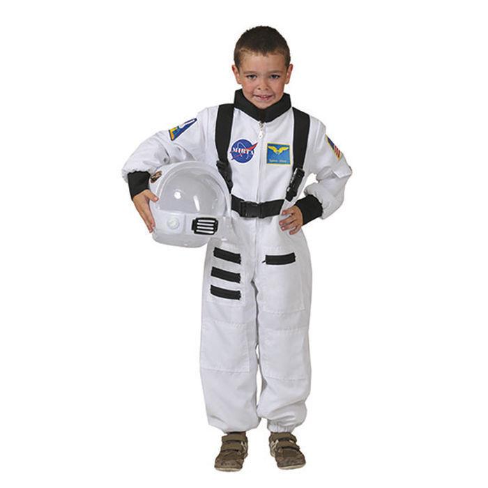 Kinder Kostum Astronaut Weiss Gr 104 116 Polizist Feuerwehr