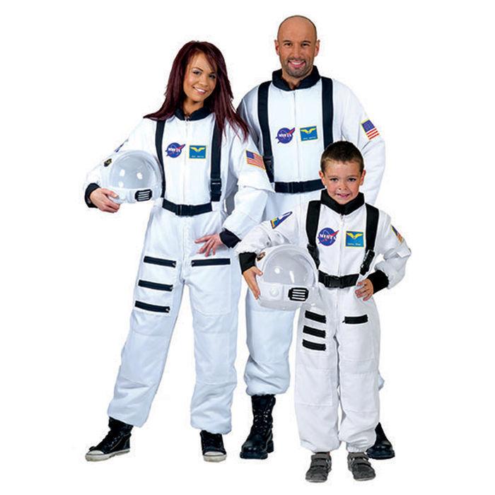 kinder kost m astronaut wei gr 128 polizist. Black Bedroom Furniture Sets. Home Design Ideas