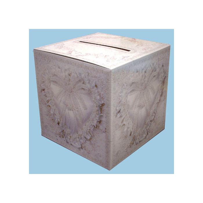 sammel box f r gl ckwunschkarten 30x30 cm hochzeit tischdeko hochzeit famili re feste. Black Bedroom Furniture Sets. Home Design Ideas