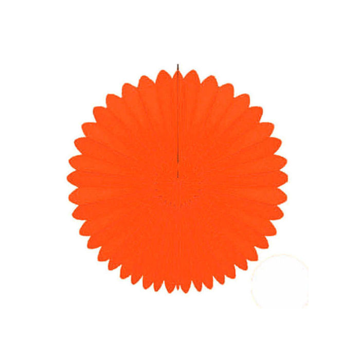 Deko-Fächer ca. Ø 60 cm, orange