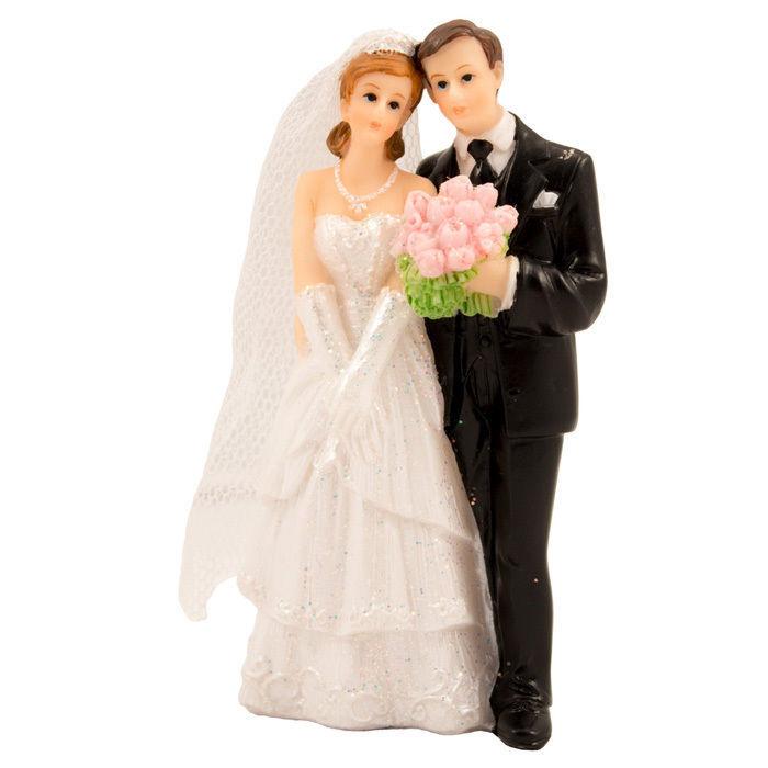 Deko Figur Hochzeitspaar Mann Frau Hochzeit Accessoires Themen