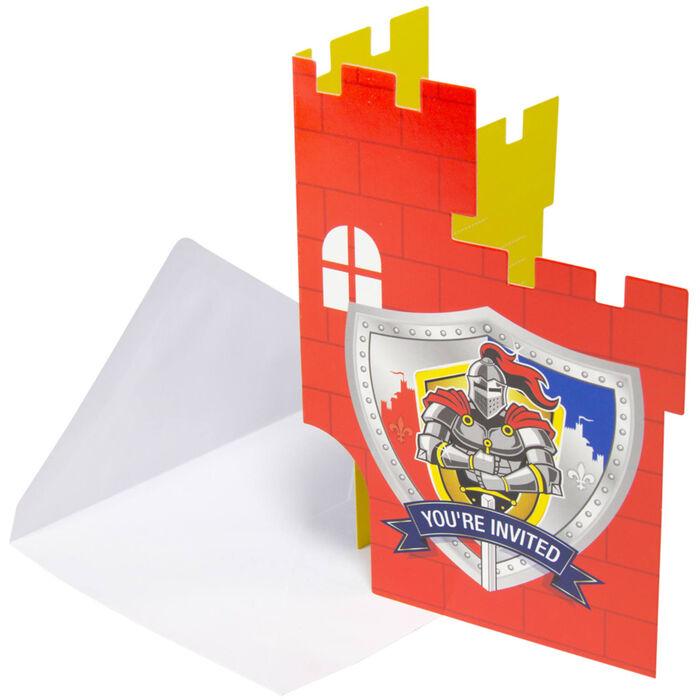 Einladungskarten Ritter U0026 Wappen ...