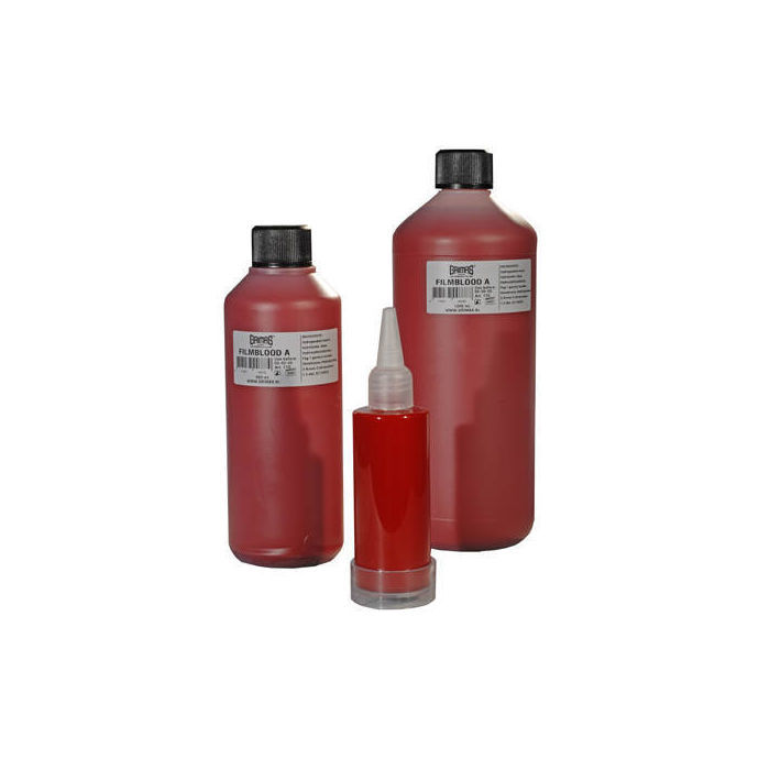 SALE Grimas Filmblut, 1000 ml., Farbe A hellrot