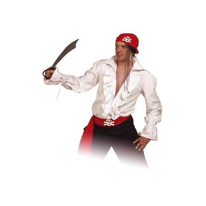 Herren Hemd Pirat Weiss Gr Xxl Xxxl Grosse Grossen Fur Herren
