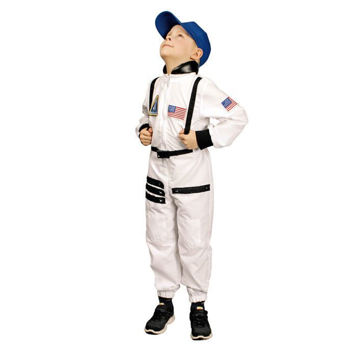 sale kinder kost m astronaut wei gr 116 128 polizist feuerwehr co kinderkost me jungen. Black Bedroom Furniture Sets. Home Design Ideas
